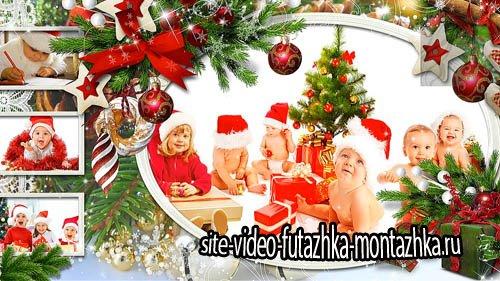 Счастливый Новый год - детский  проект для ProShow Producer