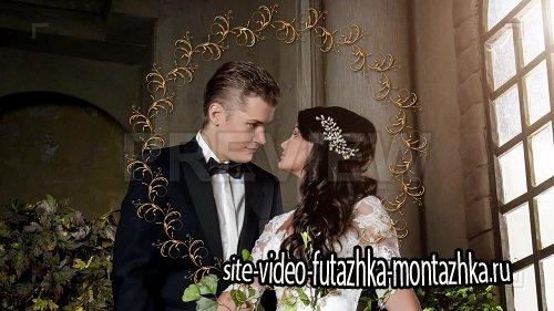 Свадебные футажи - Vintage Animated Frames Pack