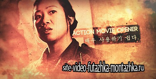Action Movie Opener - Project for After Effects (Videohive)