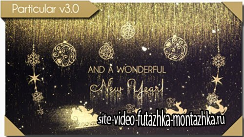 Golden Christmas Wishes - Project for After Effects (Videohive)