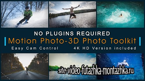 Motion Photo-3D Photo Toolkit - Project for After Effects (Videohive)