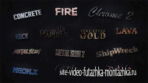 3D Text Styles Cinematic Trailer ToolKit - Project for After Effects (Videohive)
