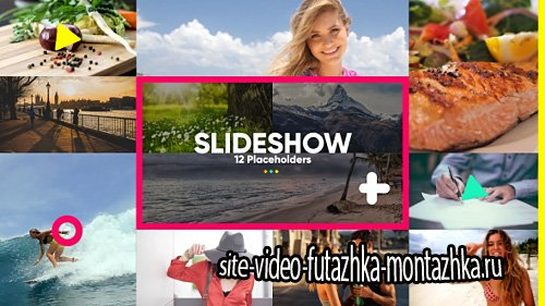 Slideshow Color - Project for After Effects (Videohive)