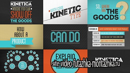 Kinetica - Project for After Effects (Videohive)