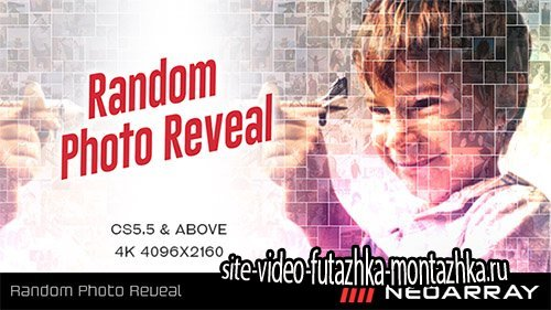 Random Photo Reveal - Project for After Effects (Videohive)