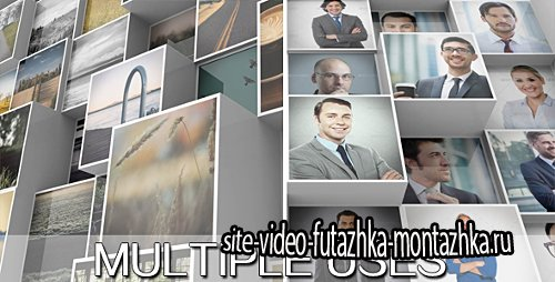 3D Mosaic Corporate Logo - Project for After Effects (Videohive)