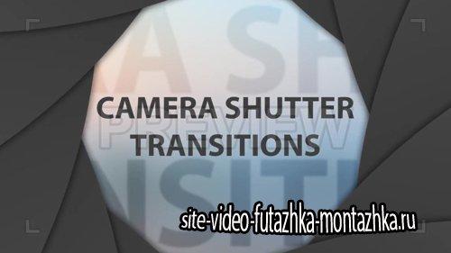 футажи-Camera Shutter Transitions