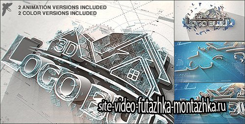 3D Logo Build - Project for After Effects (Videohive)