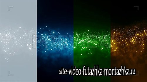 Фоновые футажи-Cinematic Particles Backgrounds
