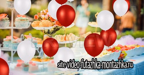 футажи-MotionArray - Balloon Overlays Pack