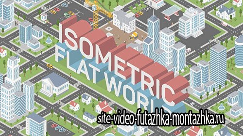 Isometric Map Builder - Project for After Effects (Videohive)
