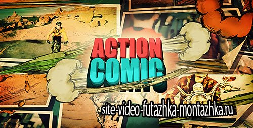 Action Comic - Project for After Effects (Videohive)