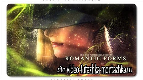 Romantic Forms Particles Slideshow - Project for After Effects (Videohive)
