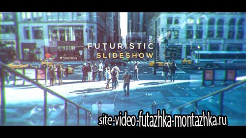 Futuristic Slideshow - Project for After Effects (Videohive)
