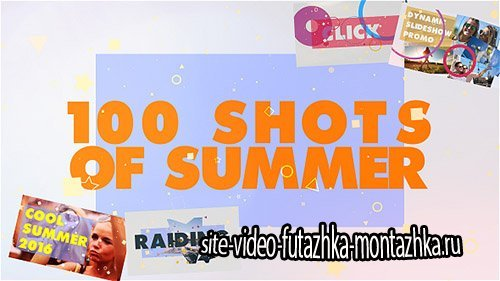 100 Shots of Summer Slideshow - Project for After Effects (Videohive)
