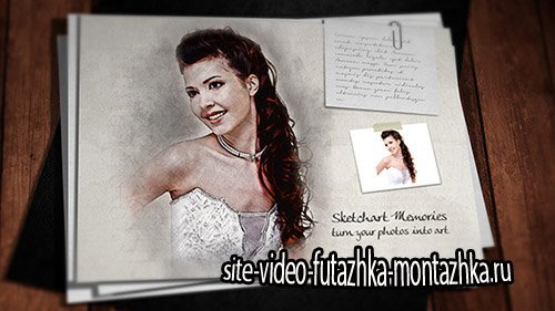Sketch Art Memories - Project for After Effects (Videohive)