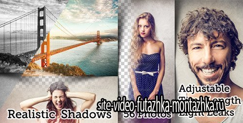 Flexible Split Screen 56 Photo Slideshow - Project for After Effects (Videohive)