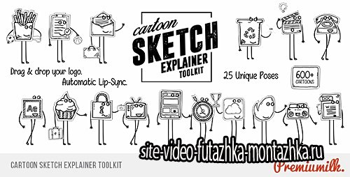 Cartoon Sketch Explainer Toolkit - Project for After Effects (Videohive)