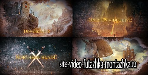 Blockbuster Cinematic Trailer - Project for After Effects (Videohive)